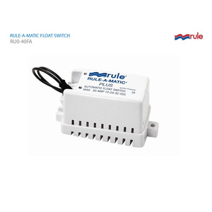 풀로트 스위치 w/Fuse Holder/ Rule-A-Matic Plus, 12/24/32V DC