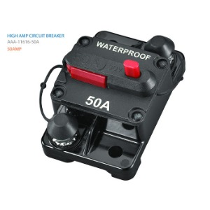 방수 회로 차단기 50A HIGH AMP CIRCUIT BREAKER 50A
